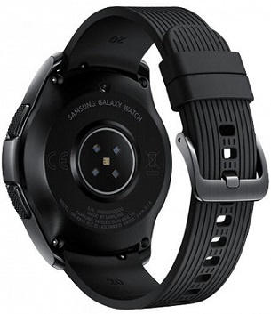 Умные часы Samsung Galaxy Watch 42mm Midnight Black (SM-R810) СТБ. - фото2
