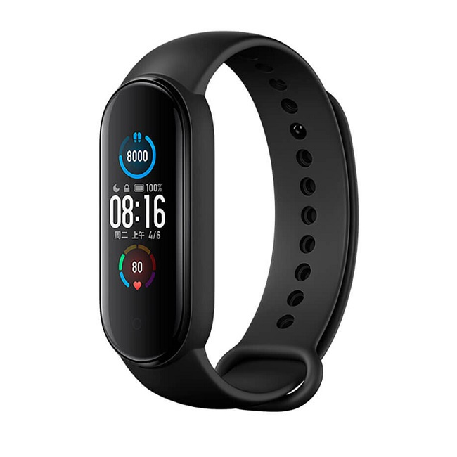 Фитнес-браслет Xiaomi Mi Smart Band 5 Black (Global Version) - фото