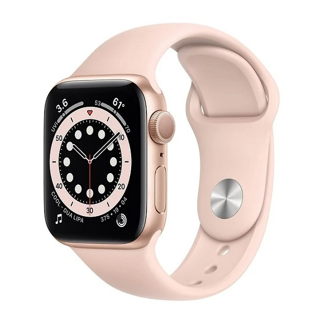 Умные часы Apple Watch Series 6 44mm Aluminum Gold (M00E3) - фото