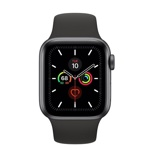 Смарт-часы Apple Watch Series 5 40mm Aluminum Space Gray (MWV82).