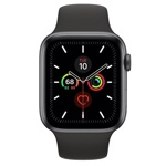 Смарт-часы Apple Watch Series 5 44mm Aluminum Space Gray (MWVF2).