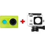 Экшн-камера Xiaomi Yi Action Camera Basic Edition + Подводный бокс